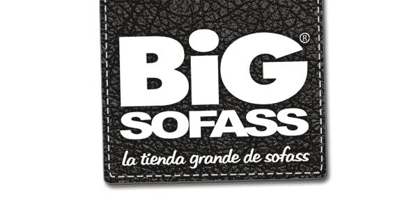 Logo BigSofass, tienda de sofás en Málaga