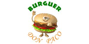 Logo Burguer Don Paco, hamburguesas en Málaga