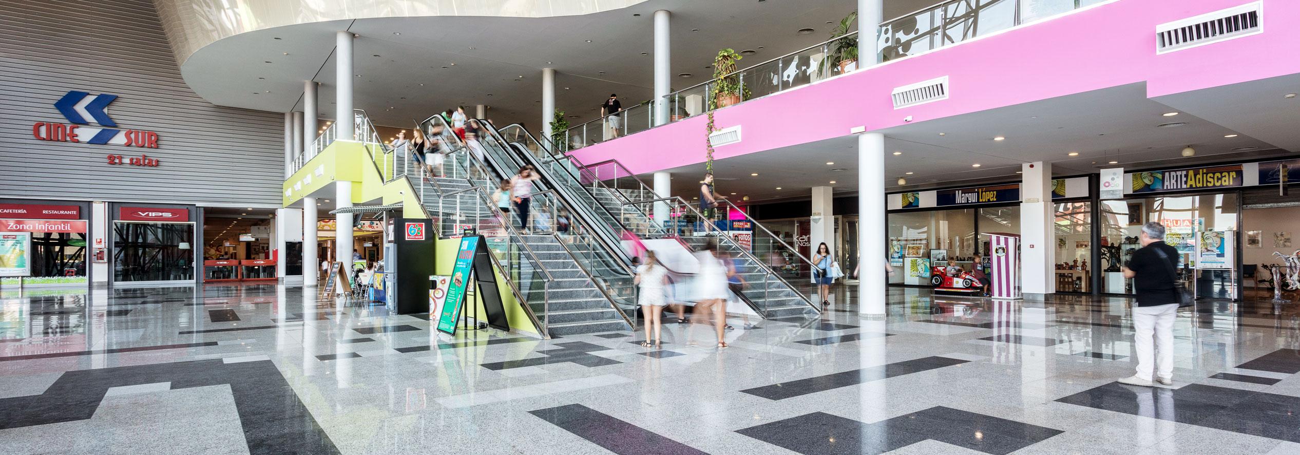 Servicios Centro Comercial Málaga Nostrum