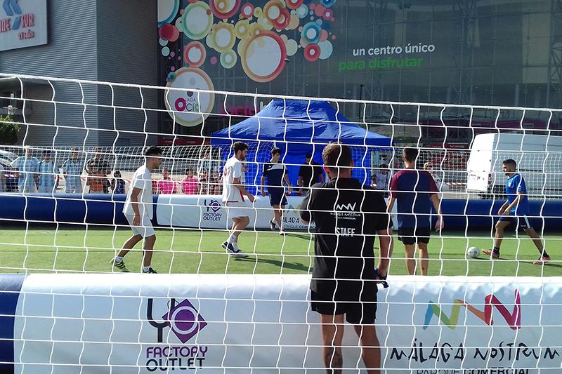 Las mejores fotos torneo de fútbol 3x3 en Málaga Nostrum