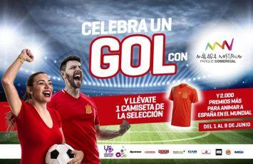 Ven a celebrar el mundial 2018 Málaga Nostrum y llévate una camiseta de la selección española
