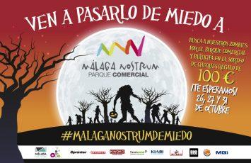 Celebra halloween málaga nostrum y participa en el sorteo de 100€ en compras