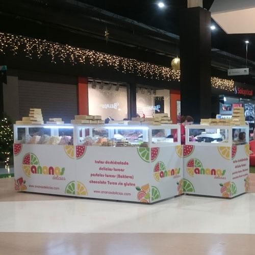 Ananas Delicias en Málaga Nostrum