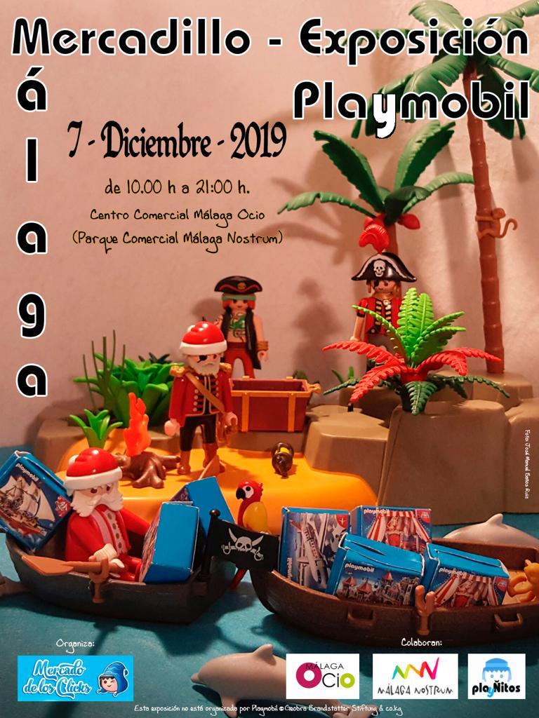 Mercadillo - Exposición de Playmobil